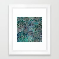 Floral Abstract 4 Framed Art Print