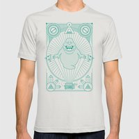 Slimer Jam Mens Fitted Tee Silver SMALL