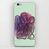 Octopus I iPhone & iPod Skin
