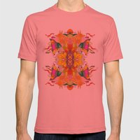 Free Psych and Mirrors - Antonio Feliz Mens Fitted Tee Pomegranate SMALL