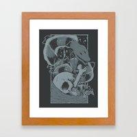 Eelectric Framed Art Print