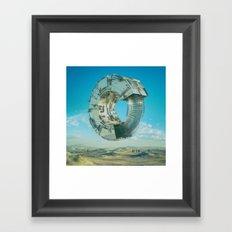 REBALANCE (02.08.16) Framed Art Print