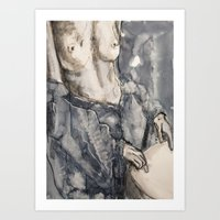 She Was Now Inclined To … Art Print