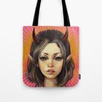 Monster Girl #1  Tote Bag