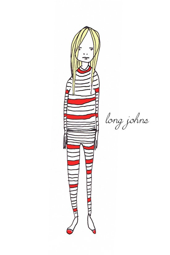 Long Johns Art Print