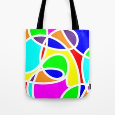 Loops Color Tote Bag