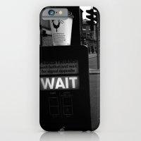 iPhone & iPod Case featuring Pedestrians Wait by Thais sr