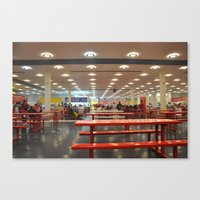 The State Fair of Texas Food Court Canvas Print