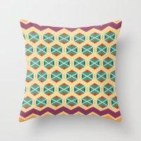 Wayuu Color Option Throw Pillow