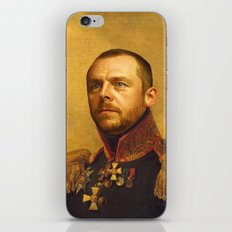 Simon Pegg - replaceface iPhone & iPod Skin