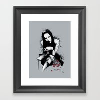 Antichrist Superstar II Framed Art Print