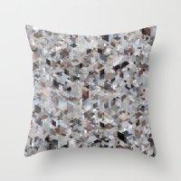 Chameleonic Panelscape Jacopo Night Throw Pillow