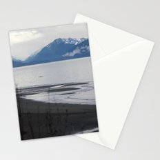 Solitude :: A Lone Kayaker Stationery Cards