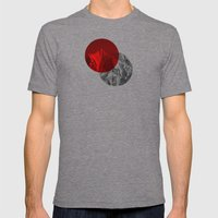 Spots Mens Fitted Tee Tri-Grey SMALL