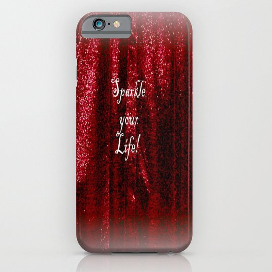 Sparkle your Life! iPhone & iPod Case