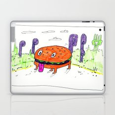 burger dog Laptop & iPad Skin