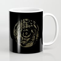 Gold Disc Mug