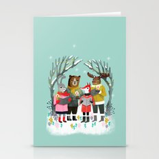 Woodland Christmas Carol… Stationery Cards