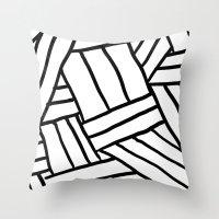 Raw Pattern Series: n.1 Throw Pillow
