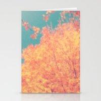 Autumnal Burst. Stationery Cards