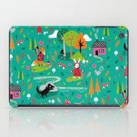 Little Red Riding Rabbit iPad Case