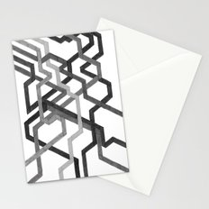 Black and White Metro Stationery Cards