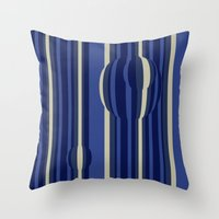 Pattern Print Edition 1 No. 10 Throw Pillow