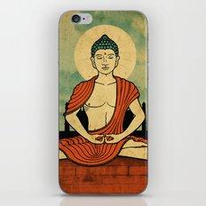Meditating Buddha iPhone & iPod Skin