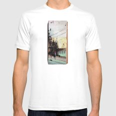 Meanwhile.. Landscape IV Mens Fitted Tee White SMALL