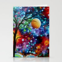 Bold Abstract Artwork Co… Stationery Cards