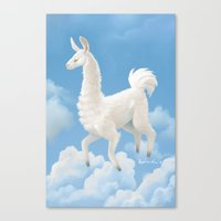 Llama Llama Ding Dong Canvas Print
