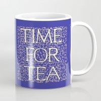 Time For Tea (Royal Blue) Mug