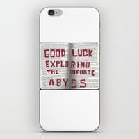 Good Luck Exploring the infinite abyss iPhone & iPod Skin