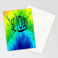 St. Louis Colors Stationery Cards