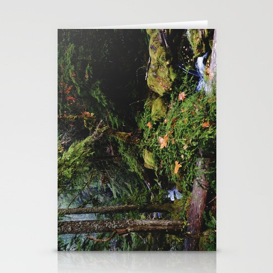 Late Fall Forest Stationery Card