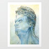 Ritratto Di Fantasia Col… Art Print