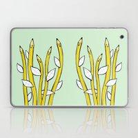 Pencilflowers Laptop & iPad Skin