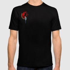 Sigil1 SMALL Black Mens Fitted Tee
