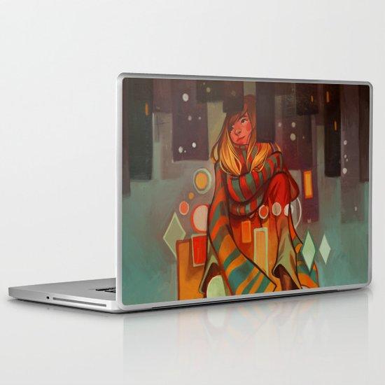 Frozen Lemons Laptop & iPad Skin