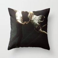 Throw Pillow featuring Abyss Of The Disheartene… by Heather Landis