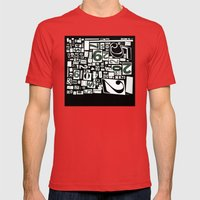 Numbers by Friztin Mens Fitted Tee Red SMALL