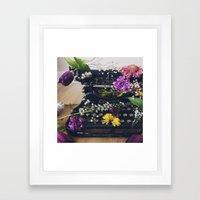 Corona Flowers  Framed Art Print