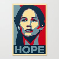 Hunger Games - Hope Canvas Print