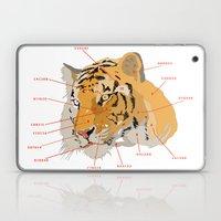 Tiger Colors Laptop & iPad Skin