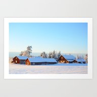 November Afternoon In Sw… Art Print