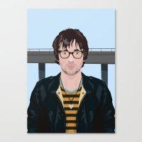 Graham Coxon Under the Westway Canvas Print