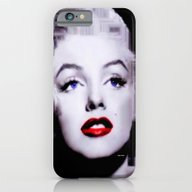 Marilyn In Black And Whi… iPhone 6 Slim Case