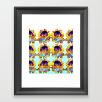 Royal Pansy Framed Art Print
