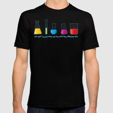 Play with your chemistry set Mens Fitted Tee Black SMALL