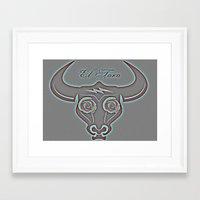 El Toro Framed Art Print